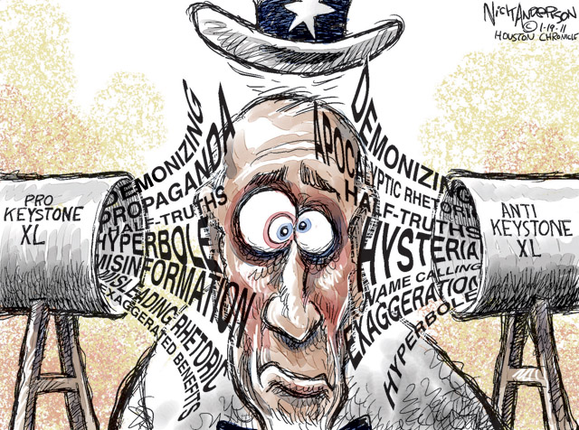 Keystone Cartoon
